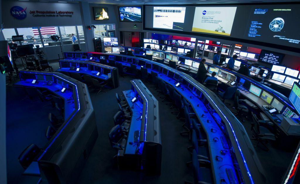 NASA workroom