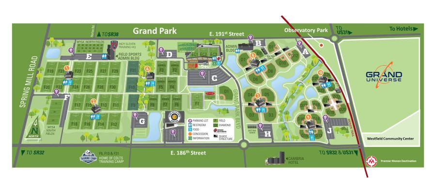 grand uni layout