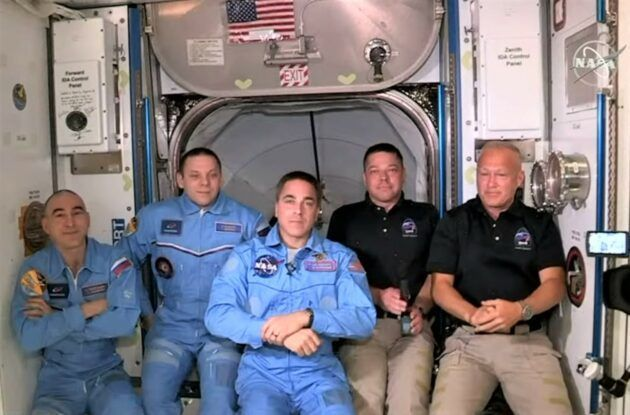 photo on space station